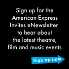 American Express Preferred Seating Newsletter sign-up
