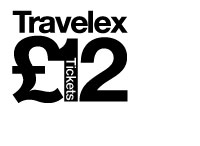 Travelex £12 tickets logo