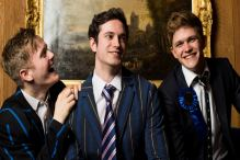 Tory Boyz - three young men in blazers
