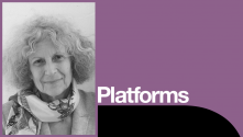 Nadia Fall and Timberlake Wertenbaker Platform; Photo of Timberlake Wertenbaker