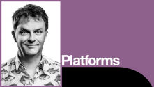 Paul Merton Platform. Photo fo Paul Merton
