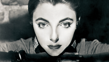 Photo Noir - portrait of Joan Collins by Cornel Lucas