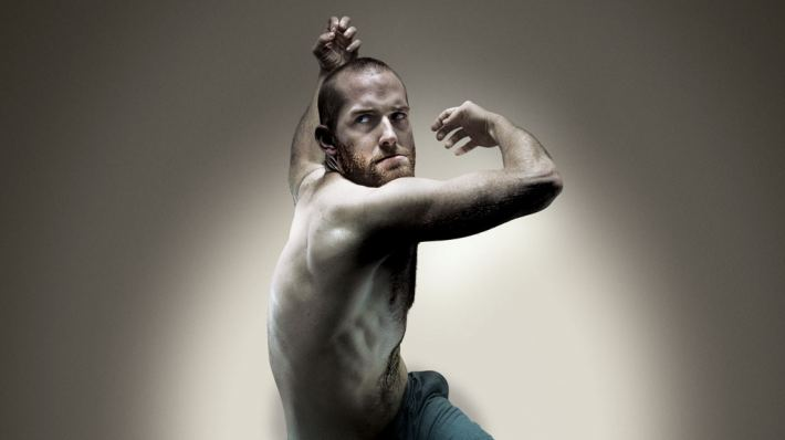 JOHN, a co-production with DV8 Physical Theatre. Photo of Hannes Langolf by Ben Hopper