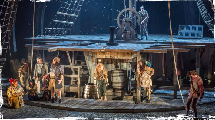 Treasure Island production image