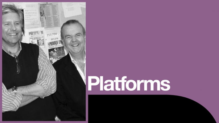 Platforms - Private Eye Ian Hislop and Nick Newman