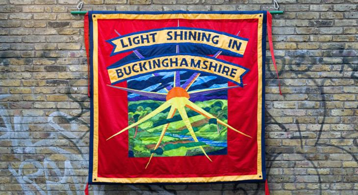 Parades banner for Light Shining in Buckinghamshire