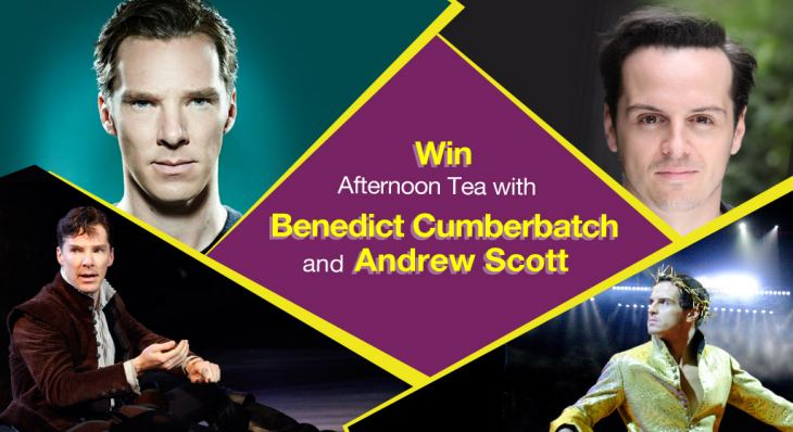 Win afternoon tea with Benedict Cumberbatch and Andrew Scott